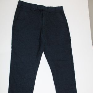 J.CREW Bowery 30 x 27.5 Textured Casual Pants Mens